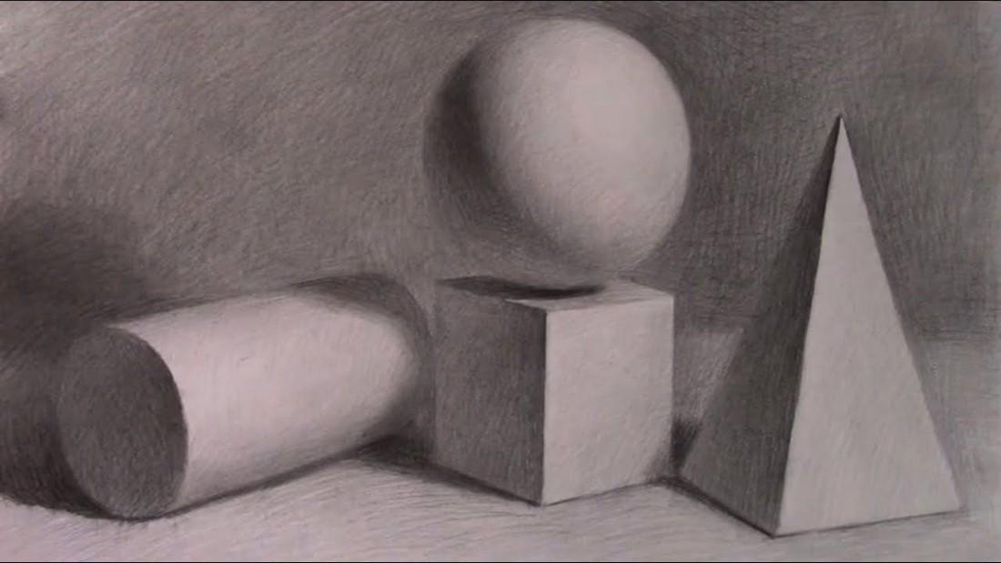 Академический рисунок. Уроки рисования. Курсы бесплатно
