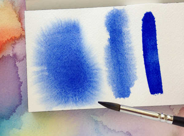 Живопись. Акварель. Техника рисования по мокрому. Обучение