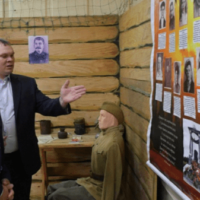 Бречалов посетил музей «Набат памяти»