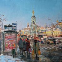 Выставка «Москва и москвичи» в интерьерах Натальи Леоновой и пейзажах Олега Леонова открывается в Москве