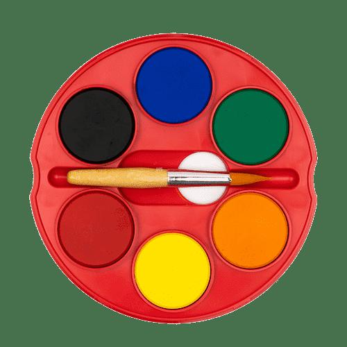 Обучение ребенка рисованию акварель