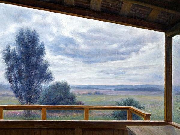 Другое измерение пейзажей Николая Касаткина