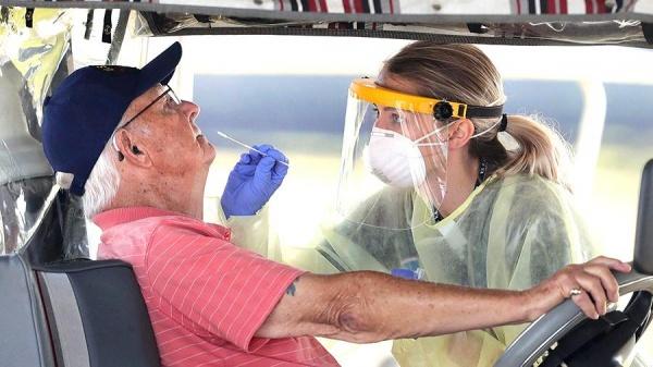 США вышли на первое место по числу заразившихся коронавирусом