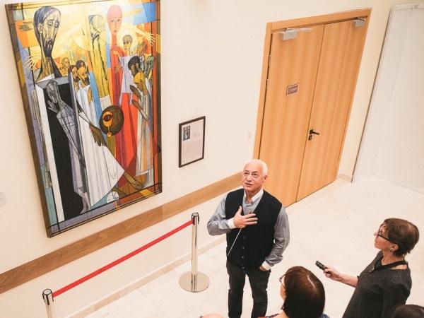 Новый зал, арт-пространство и комната Шнитке открылись в Доме музыки