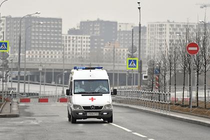 В коронавирусной больнице вМоскве умер пациент