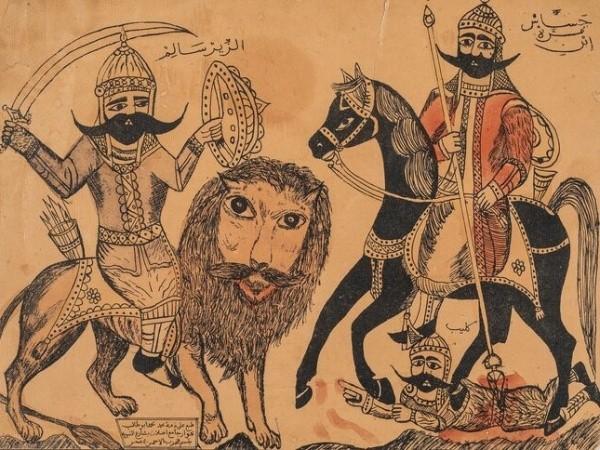 Выставка арабской народной картины открылась в Музее Востока