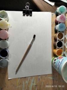 Урок рисования. Онлайн обучение. Гуашь. Дети младшей группы