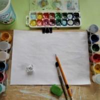 № 5. Лаванда. Онлайн урок рисования для младшей группы «Калейдоскоп»