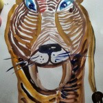 10.7. Урок рисования гуашью. Младшая группа «Калейдоскоп»