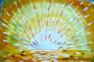 № 12. Закат. Онлайн Урок Рисования Для Младшей Группы «Калейдоскоп»