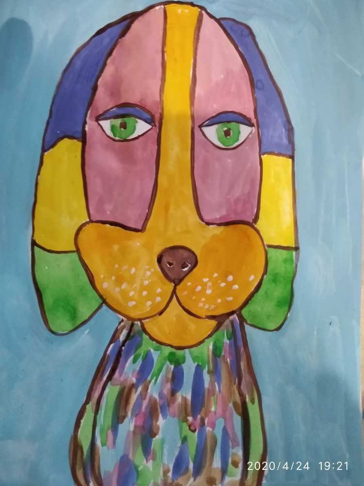 Рисунок. Обучение онлайн. Работы детей