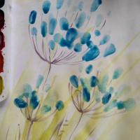 № 10. Живые цветы. Онлайн Урок Рисования Для Младшей Группы «Калейдоскоп»