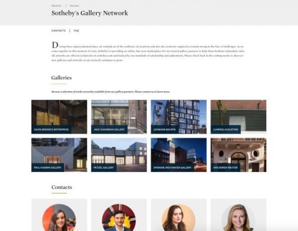 Аукционный дом Sotheby's выходит на первичный рынок искусства                             ARTinvestment.RU29 апреля 2020