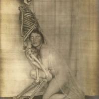 Дама со скелетом: сюрреалистический фотосет Франца Фидлера начала 1920-х годов