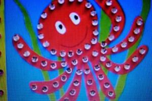 № 14. Морские животные. Онлайн Урок Рисования Для Младшей Группы «Калейдоскоп»
