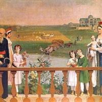 Сады в русской живописи