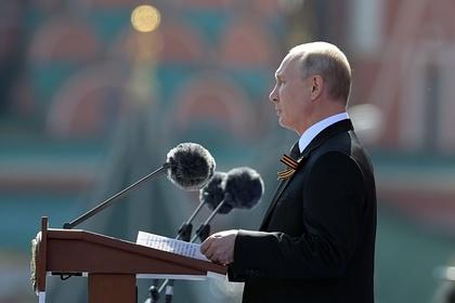 Названы самые частые фразы Путина вречах напараде Победы за20лет
