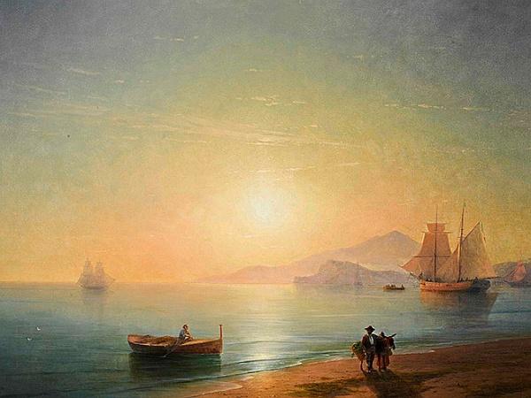 Полотно Айвазовского стало самым дорогим лотом, проданным Sotheby's онлайн