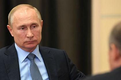 Путин объявил оботступлении эпидемии коронавируса вРоссии