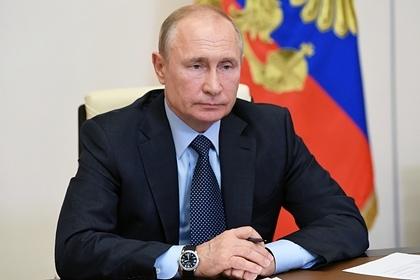Путин заявил обуверенном выходе России изпандемии коронавируса