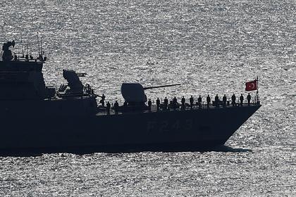 Стало известно обинциденте между военными кораблями Турции иФранции вЛивии