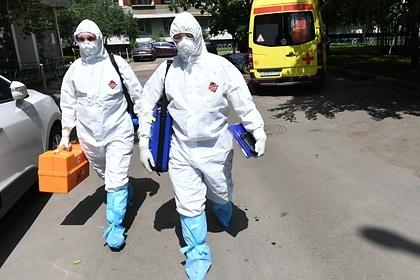 В России засутки выявили 8706новых случаев заражения коронавирусом