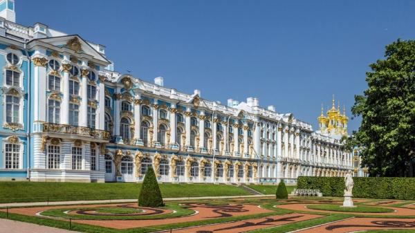 Екатерининский дворец в Петербурге открылся для посетителей