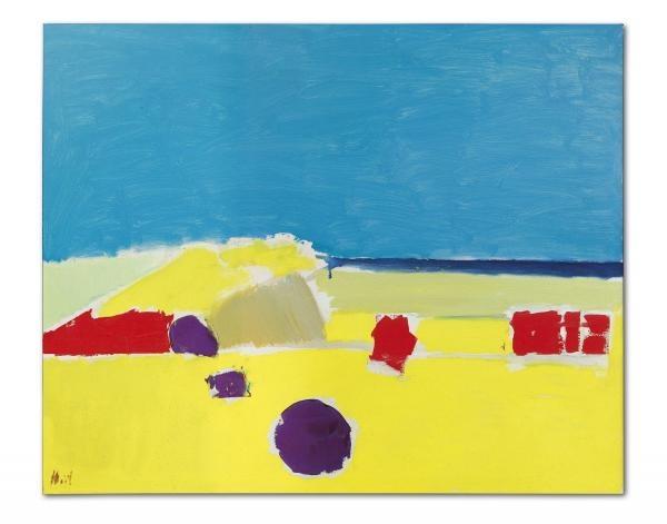 «Пляж в Агридженто» кисти Николя де Сталя станет топ-лотом Парижской части торгов Christie's ONE                             ARTinvestment.RU06 июля 2020