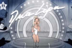 Дуа Липа выпустила анимационный клип «Hallucinate»