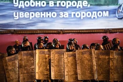 МВД сообщило опогибшем напротестной акции вМинске