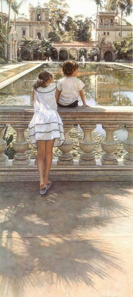 Акварелисты мира. Стив Хенкс. Акварель. Фото работ.